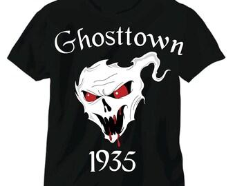 """Coming Soon Ghosttown 1935  """"glow in the dark"""" demon red eyes"""