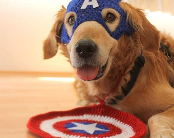 Dog Costume, Super Hero Dog Costume, Dog Cosplay Outfit, Dog Super Hero Costume, Halloween Costume for Large Breed Dogs, Super Soldier Dog
