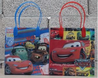 Cars Treat Bags, Cars Favor Bags, Dulceros, Cars Theme