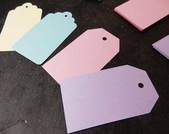 Pastel Luggage Tags, Pastel Gift Tags, Wedding Place Cards, Boho Wedding
