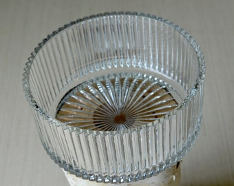Vintage ,glass candy dish