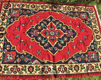 The Crown-Carpet,Rug,Handmade,Vintage,Chiprovci