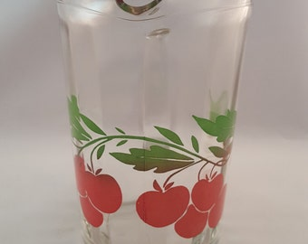 SALE - Vintage Cherry Pitcher