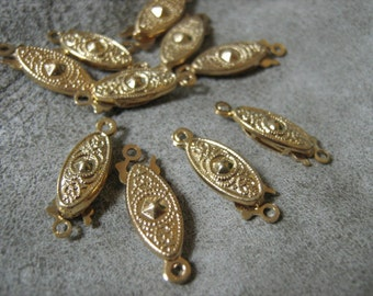 Color gold necklace clasp