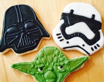 12 Star Wars Cookies