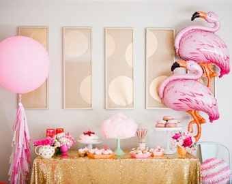 Jumbo Balloon / Flamingo Balloon / Baby Shower/ Pink Balloon / PartySupplies / Birthday Pary / Party Decor / Birthday