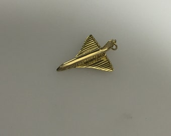9ct Gold Opening Concorde Charm