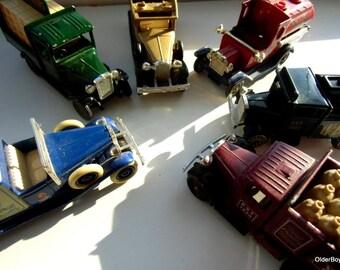 Vintage Cars Models, Lleydo for Walker Crisps Promotional Models, Morris Truck Corgi, Collectible Lleydo Cars, Corgi Morris Truck D5/1101