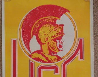 Large Old USC Poster