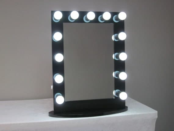 Vanity Lights With Dimmer : Hollywood Lighted Vanity Mirror w/ Dimmer & by LIGHTEDimpressions