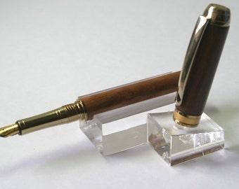 Almond & Ebony Mistral Fountain Pen