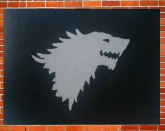 Game of Thrones: House Stark, Direwolf Sigil
