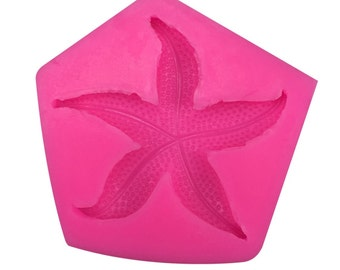 Silicone Starfish Seashell