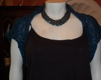 SALE - Plus Size Knitted Shrug Size 18/20