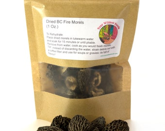 Dried Morels (1 Oz.)