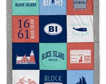 Block Island Destination Blanket