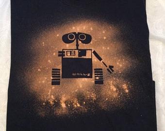 Bleached T-shirt Wall-E