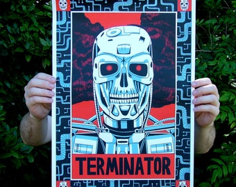 Terminator - Large screen print