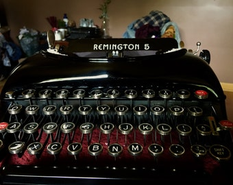 SOLD*Remington 5 Typewriter