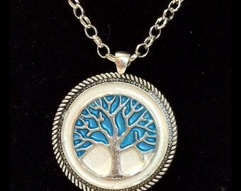 Tree of life necklace, gift personalized, protection amulet, gift for her, birthday gift, handmade, unique jewelry,