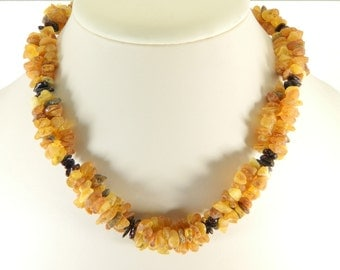 Medical Raw Baltic Amber stone beads (18 inch)