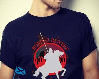 Scottish Border Reivers - We Ride T-shirt