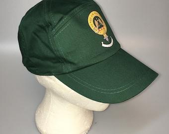 Johnstone clan crest baseball cap, green