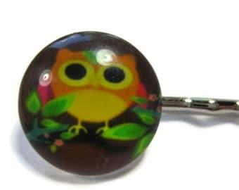 Owl Bobby Pin Set of 2
