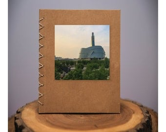 Winnipeg Museum - handmade blank kraft paper notebook