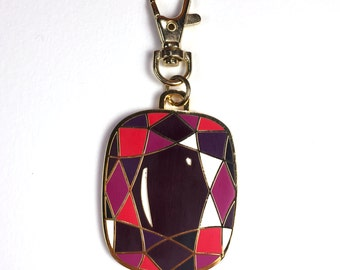 RUBY Bag Clip // Purse Charm