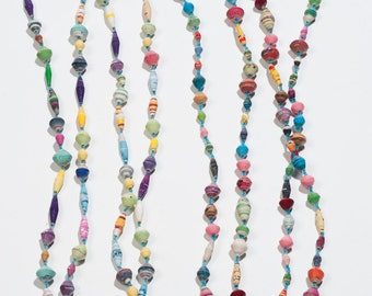 AfriBeads Multi-coloured Long Necklace