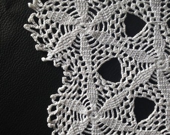 French doily embroidered