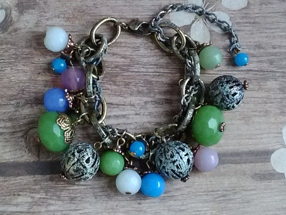 Gypsy Cluster Bracelet Coachella Fest
