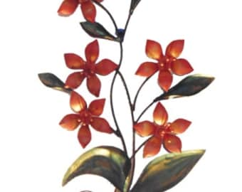 wall decor tree with flowers