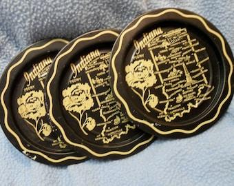 Indiana Souvenir Coasters  1960s