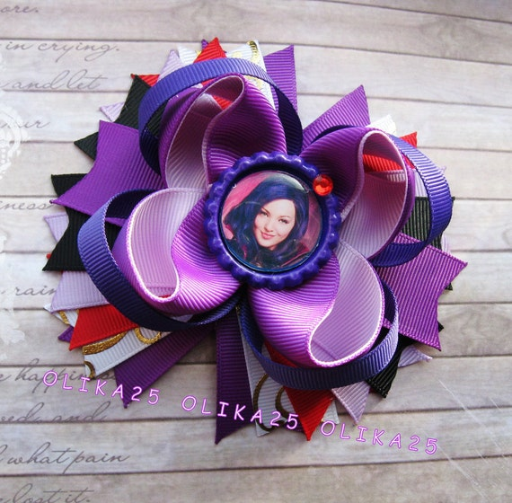 Disney Descendants Mal Hair Bow