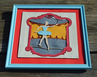 Circus themed decoration- Tight rope walker