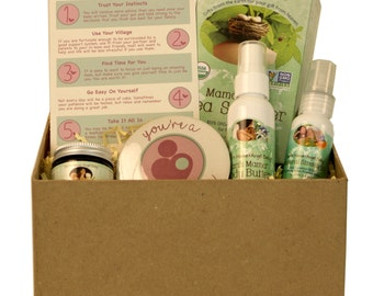 Pregnancy Gift Basket Box - Perfect congrats gift for an expecting mom-to-be. Send her confidence and encouragement!