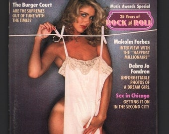 Mature Vintage Playboy Mens Girlie Pinup Magazine : April 1979 VG+ White Pages Intact Centerfold