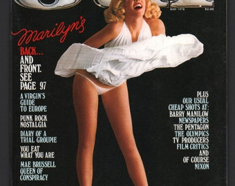 Mature Vintage Playboy's OUI Magazine Mens Girlie Pinup Magazine : May 1978 Ex+/NrMt White Pages Intact Centerfold High Grade Unread