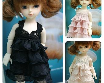 Cancan sleeveless dress (Pink) (USD)