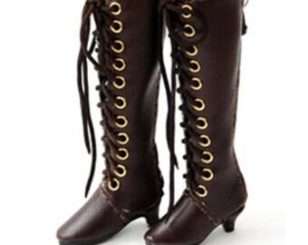 Laceup-heel Boots 30mm(3 color)/Brown