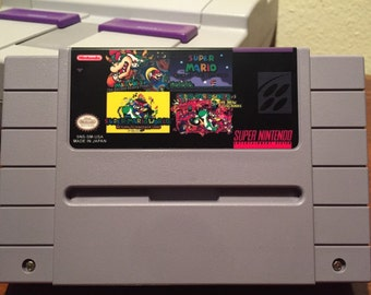 Super Mario World: 4 games in 1!- multi cart for the Snes