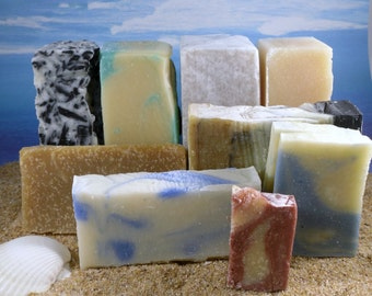 Soap Grab Bag  / Natural Soap Ends, Soap Sale, Soap Set, Soap Sampler, Bundle, Soap Variety Pack, Soap Assortment, Surprise Soap