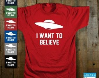 I want to Believe T shirt | X Files Shirt-E3
