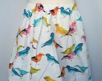Girls bird skirt