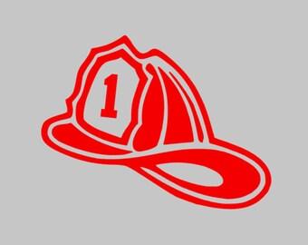Iron on Fireman Hat logo