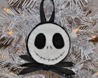 Customized Jack Skellington Ornament Or Keychain