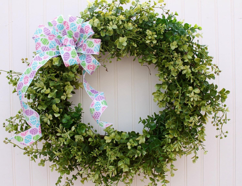Easter Wreath Spring Wreath Easter Decor Front Door Wreath