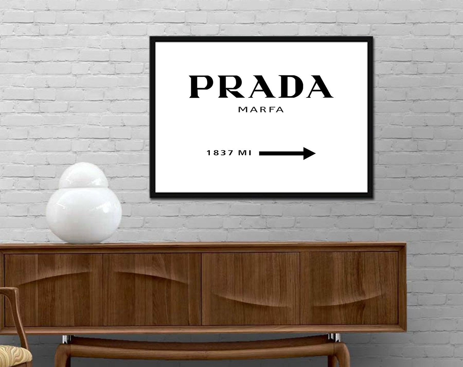 replica prada mens wallet - Popular items for fashion poster on Etsy